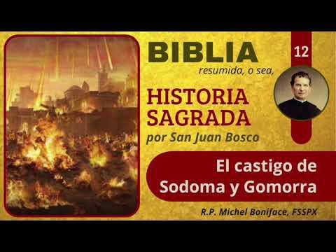 12 El castigo de Sodoma y Gomorra | Historia Sagrada