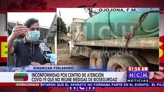 ¡Preocupados habitantes de Ojojona! por la habilitación de Centro Comunal para casos de Covid-19