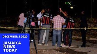 Jamaica News Today December 3 2020/JBNN
