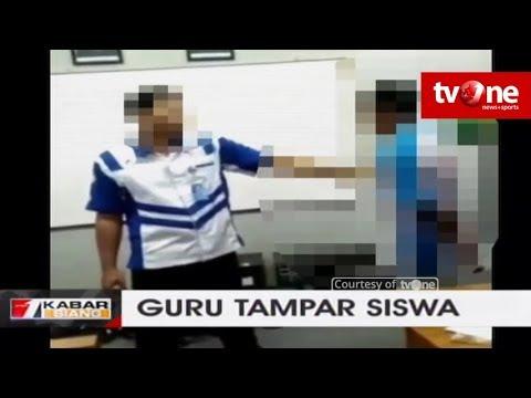 Guru Yang Videonya Viral Saat Menampar Dua Siswa Dalam Kelas, Kini Ditahan Polisi