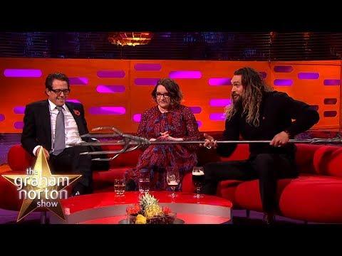 Jason Momoa Shows Off His Aquaman Quindent | The Graham Norton Show