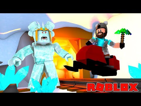 connectYoutube - ICE MOUNTAIN BOSS + UNLOCK SECRET CAVE!! | ROBLOX SNOW SHOVELING SIMULATOR
