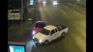 Impacto Vial: Conductor a excesiva velocidad impacta con otro vehículo