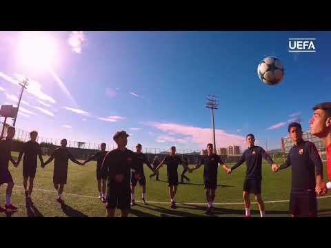 Barça's U19 team is ready for the UEFA Youth League Final Four