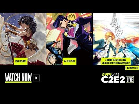 DC Comics, Viz Media, unOrdinary | C2E2 Panel Rm 2 (Day 3) | SYFY WIRE