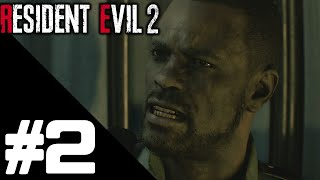 Resident Evil 2 Remake Walkthrough Gameplay Part 2 {Leon Story} – PS4 1080p Full HD – No Commentary