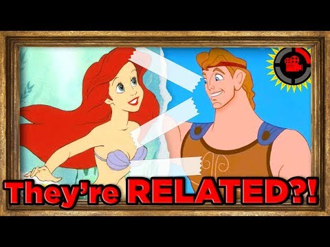 connectYoutube - Film Theory: Ariel is RELATED to Hercules?! (Disney's Connected Universe)