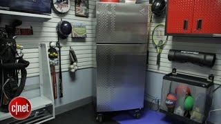 This tough garage fridge chills under extreme conditions