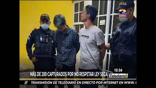Más de 200 capturados por no respetar la ley sexa
