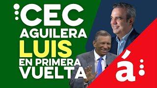 Aguilera del Centro Económico Del Cibao sostiene que Luis ganará en primera vuelta