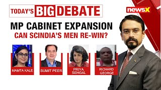 MP CABINET EXPANSION: CAN SCINDIA'S MEN RE-WIN? | NewsX - NEWSXLIVE
