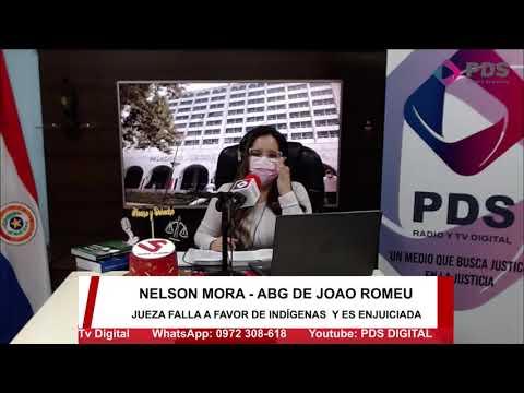 Entrevista- Nelson Mora Abg. de Joao Romeu