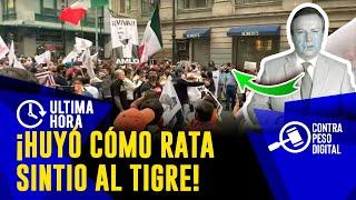 MEXICANOS AL GRITO DE GU3RR4! ASÍ SACARON A FRENAAA DEL ZOCALO,GILBERTO LOZANO QUEDO COMO....