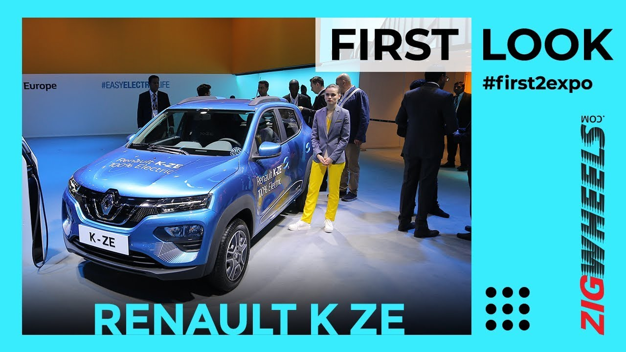 Renault Kwid Electric at Auto Expo | Detailed Walkaround | ZigWheels.com