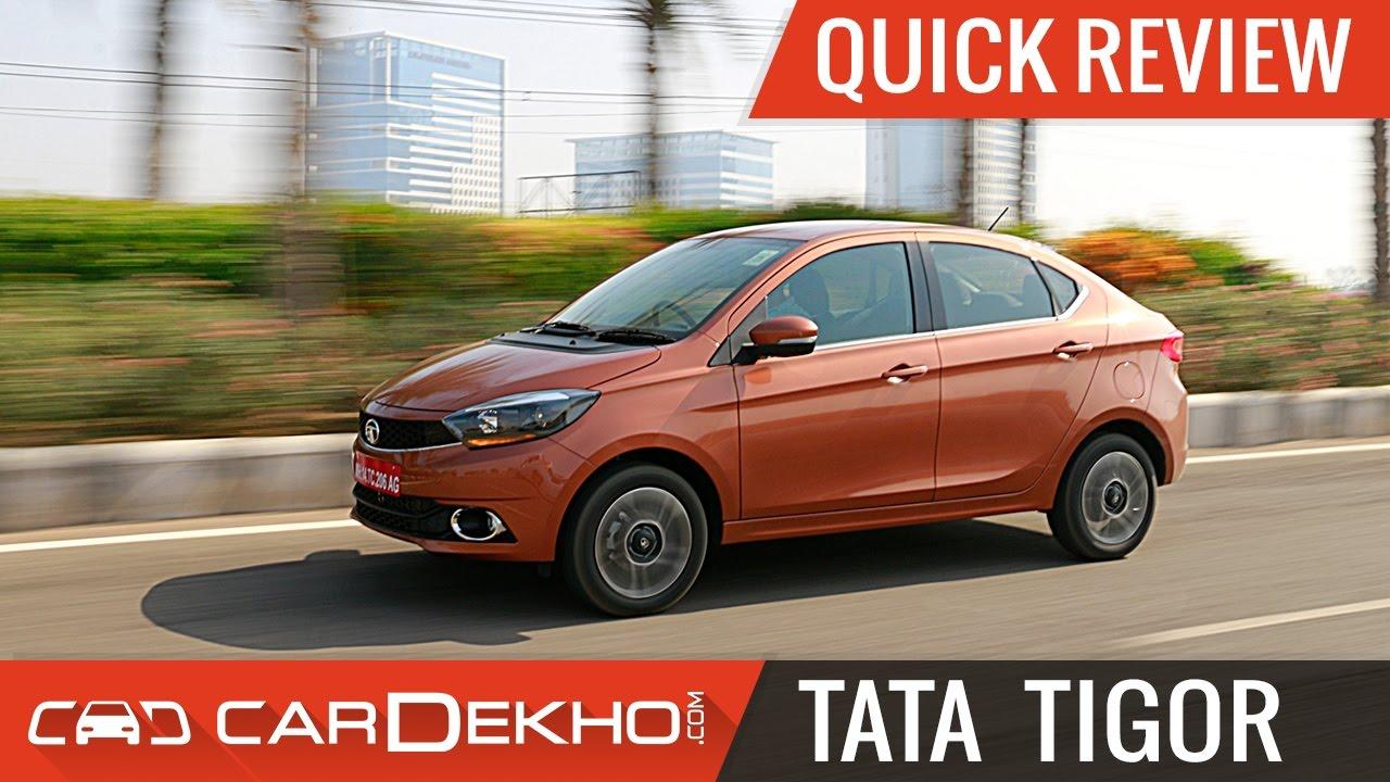 TATA Tigor | Quick Review
