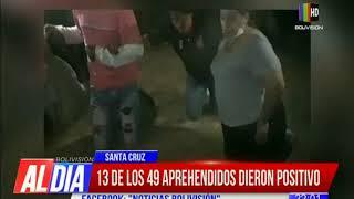 13 de los 49 aprehendidos en Samaipata dieron positivo por COVID-19
