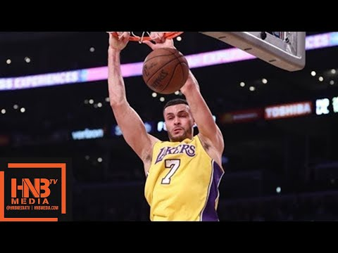 connectYoutube - Los Angeles Lakers vs Indiana Pacers 1st Half Highlights / Jan 19 / 2017-18 NBA Season