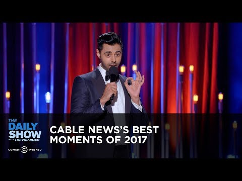 connectYoutube - Cable News's Best Moments of 2017: The Daily Show