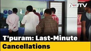 Thiruvananthapuram: Air Passengers Stranded - NDTV