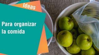 Productos que le ayudarán a organizar sus comidas | Ideas