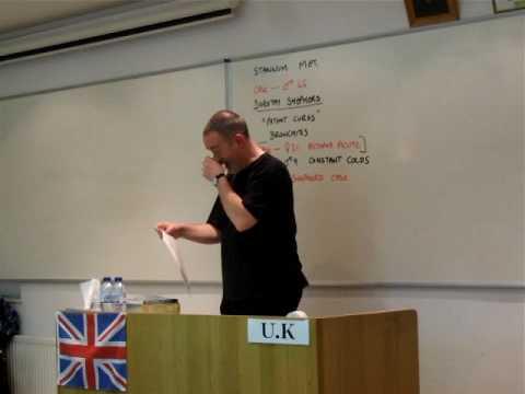 スティーヴ・スミス先生 講義の様子