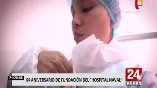 Conmemoran el aniversario 64º del hospital Naval