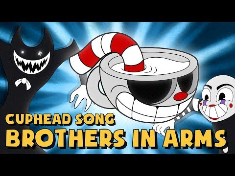 connectYoutube - CUPHEAD SONG (BROTHERS IN ARMS) LYRIC VIDEO - DAGames