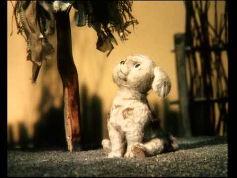 Кадр из мультфильма «Щенок и старая тапочка»