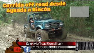 Corrida off road 4x4 desde Aguada  a Rincón ,Puerto Rico