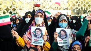 Iran: des partisans de Raïssi fêtent sa victoire à la présidentielle   AFP
