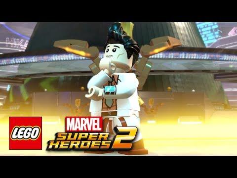 LEGO Marvel Super Heroes 2 - Amadeus Cho Free Roam Gameplay Showcase