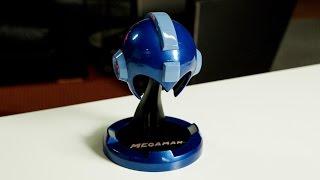 Mega Man Helmet Replica Unboxing