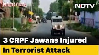 CRPF Jawan, Civilian Dead After Terrorists Attack Patrol Party In J&K - NDTV