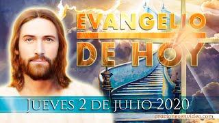 """Evangelio de HOY jueves 02 julio 2020.  """"Ten confianza, hijo. Se te perdonan tus pecados""""."""