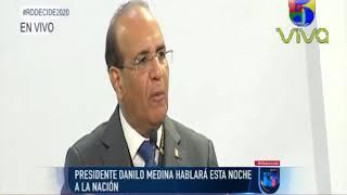 Presidente Danilo Medina hablará esta noche a la nación