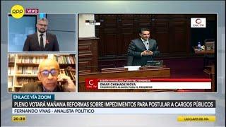 """Fernando Vivas: """"Cuando tengas problemas golpea al Congreso"""""""