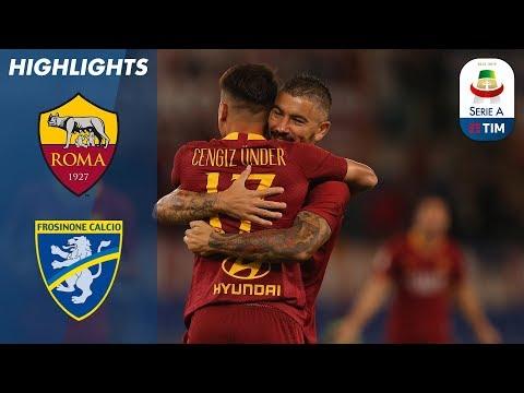 أهداف مباراة روما وفروسينوني 4-0 - البطولة الايطالية -