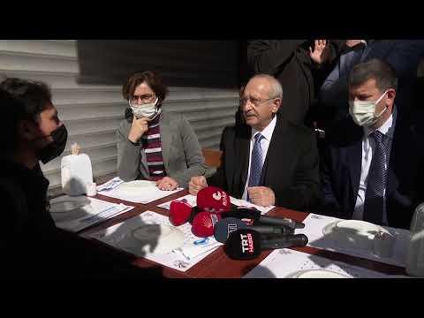 CHP GENEL BAŞKANI KEMAL KILIÇDAROĞLU İSTANBUL'DA 04/03/2021