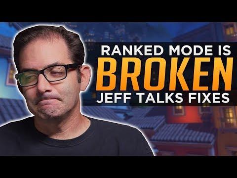 Overwatch: Ranked is BROKEN! - Jeff Talks Fixes