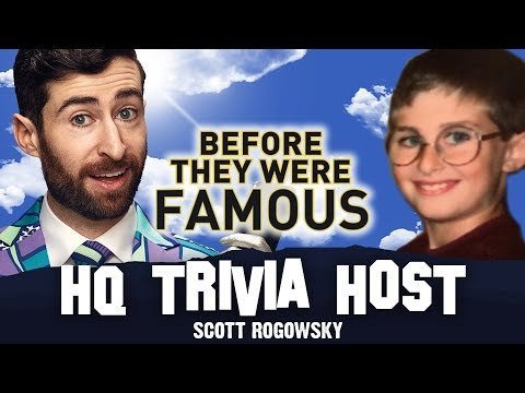 HQ TRIVIA HOST | Before They Were Famous | SCOTT ROGOWSKY