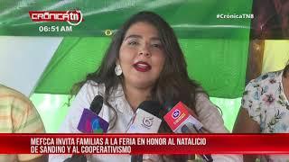 Feria del MEFCCA rendirá homenaje a Sandino y al cooperativismo - Nicaragua