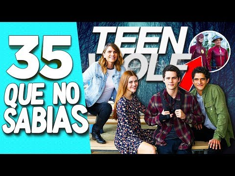 connectYoutube - 35 CURIOSIDADES que NO SABÍAS de TEEN WOLF