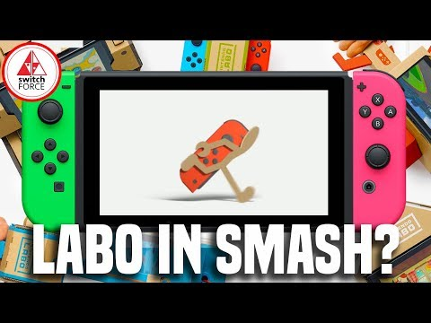 connectYoutube - Laboman! Will Labo Be In Super Smash Bros. Switch?
