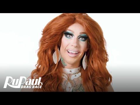 Kameron Michaels Is Boho-Chic Grunge-Glamour | RuPaul's Drag Race Season 10