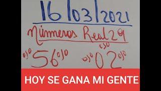 NUMEROS PARA GANAR HOY 16 DE MARZO EN TODAS LAS LOTERIAS