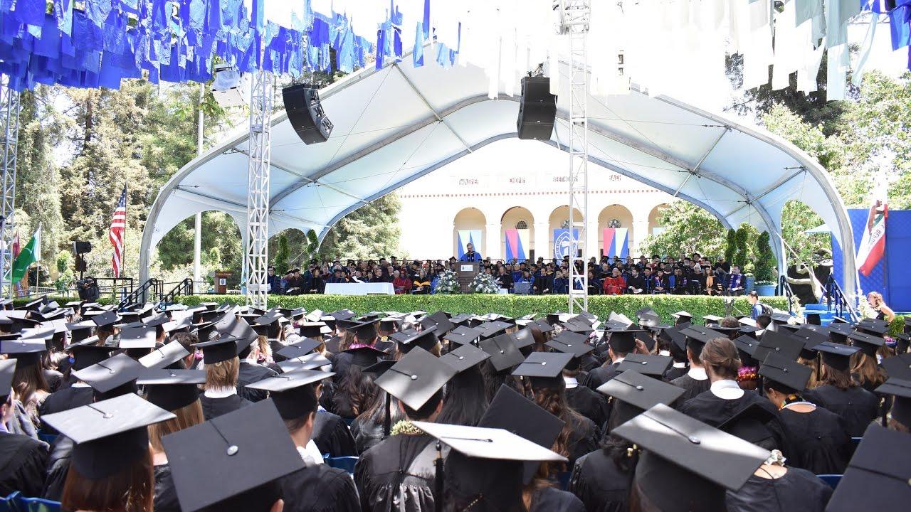 2017 Pomona College Commencement