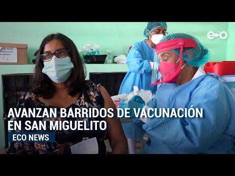 Avanzan barridos de vacunación en San Miguelito   Eco News