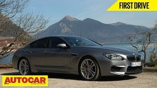 BMW M6 Gran Coupe | First Drive