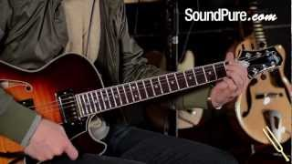 GCS-1 from Bill Comins - Bigsby, Autumn Burst, Semi-Hollow Body Guitar - Rhythm Guitar Demo