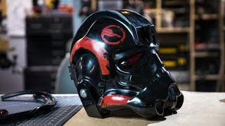 Making a Star Wars Battlefront 2 Helmet for Janina Gavankar!